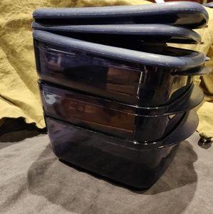 Tupperware set of 3